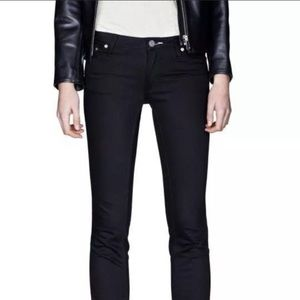Acne Kex Wet Black Jeans